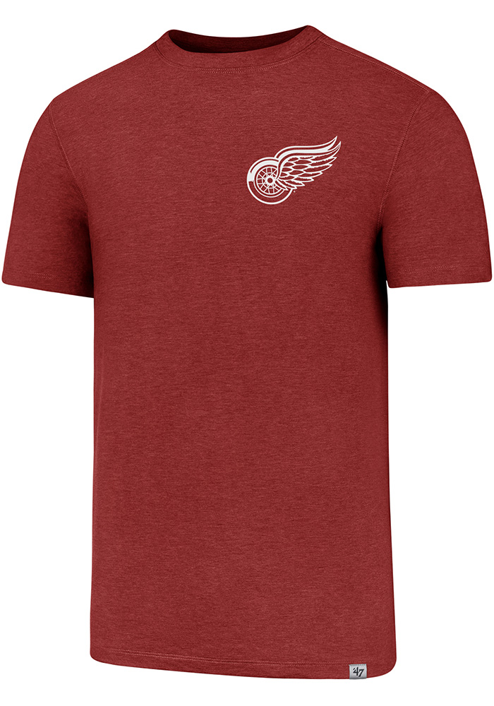 47 Detroit Red Wings Red Forward Gravity Tee