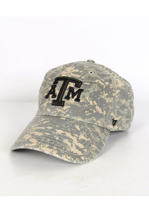 '47 Texas A&M Aggies Mens Maroon OHT Nilan Clean Up Adjustable Hat