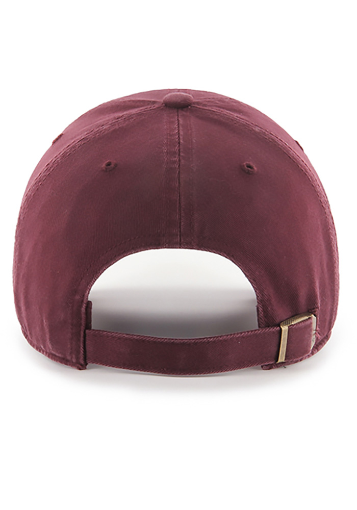 '47 Cleveland Cavaliers Mens Maroon Tonal Clean Up Adjustable Hat - Image 2
