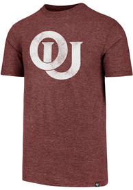 47 Oklahoma Sooners Crimson Throwback Match Fashion Tee