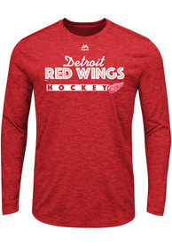 Majestic Detroit Red Wings Red Crash The Net Tee