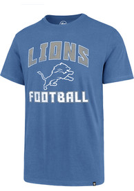 47 Detroit Lions Blue Game Changer Tee