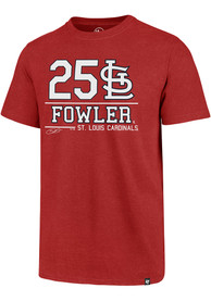 Dexter Fowler St Louis Cardinals Red Club Fashion Player Tee