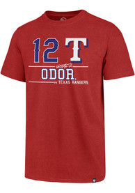 Rougned Odor Texas Rangers Red Club Fashion Player Tee