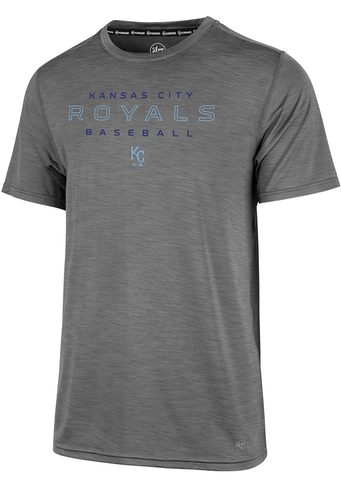 '47 Kansas City Royals Grey Microlite Shade Tee