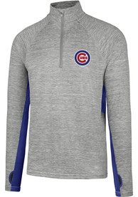 47 Chicago Cubs Grey Evolve 1/4 Zip Pullover