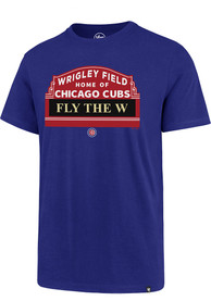47 Chicago Cubs Blue Super Rival Tee