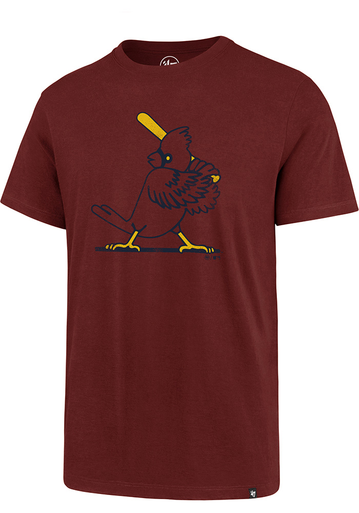 47 St Louis Cardinals Red Super Rival Short Sleeve T Shirt - Image 1