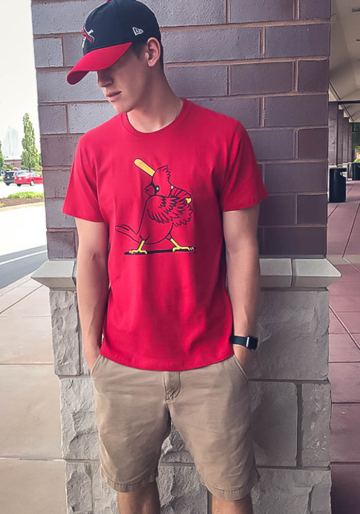 47 St Louis Cardinals Red Super Rival Short Sleeve T Shirt - Image 2