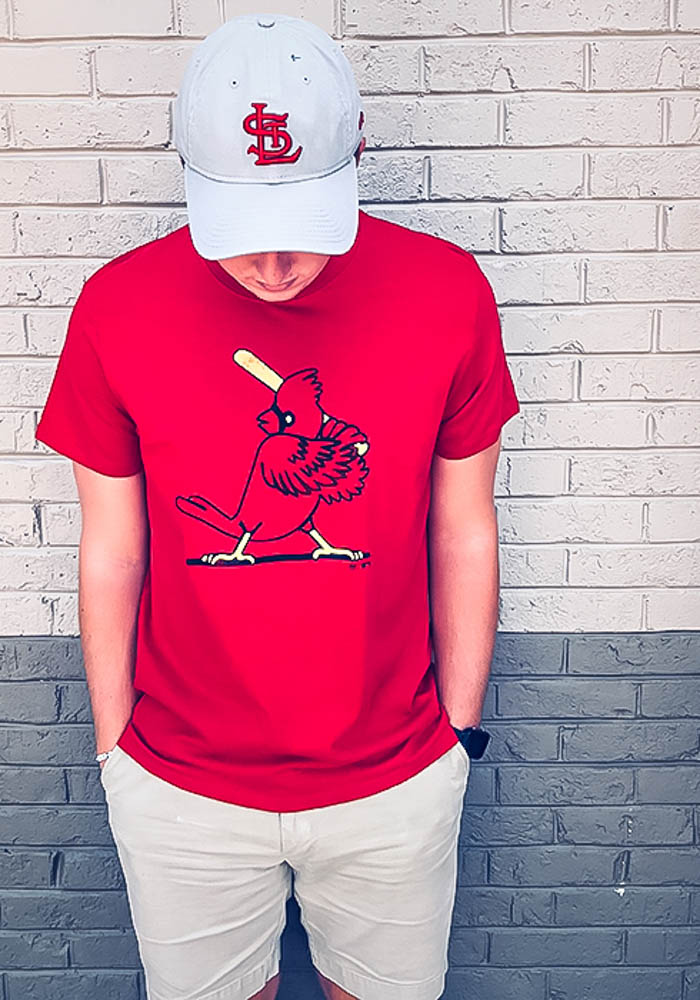47 St Louis Cardinals Red Super Rival Short Sleeve T Shirt - Image 3