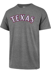 47 Texas Rangers Grey Super Rival Tee