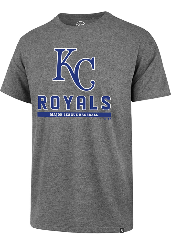 47 Kansas City Royals Grey Super Rival Tee