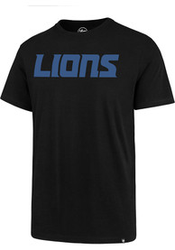 47 Detroit Lions Black Wordmark Tee