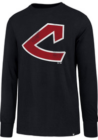 47 Cleveland Indians Navy Blue Super Rival Tee