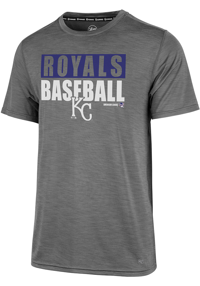 '47 Kansas City Royals Mens Grey Microlite Shade Tee
