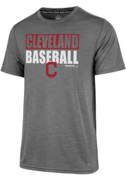 47 Cleveland Indians Grey Microlite Shade Tee