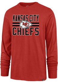 47 Kansas City Chiefs Red Block Stripe Tee