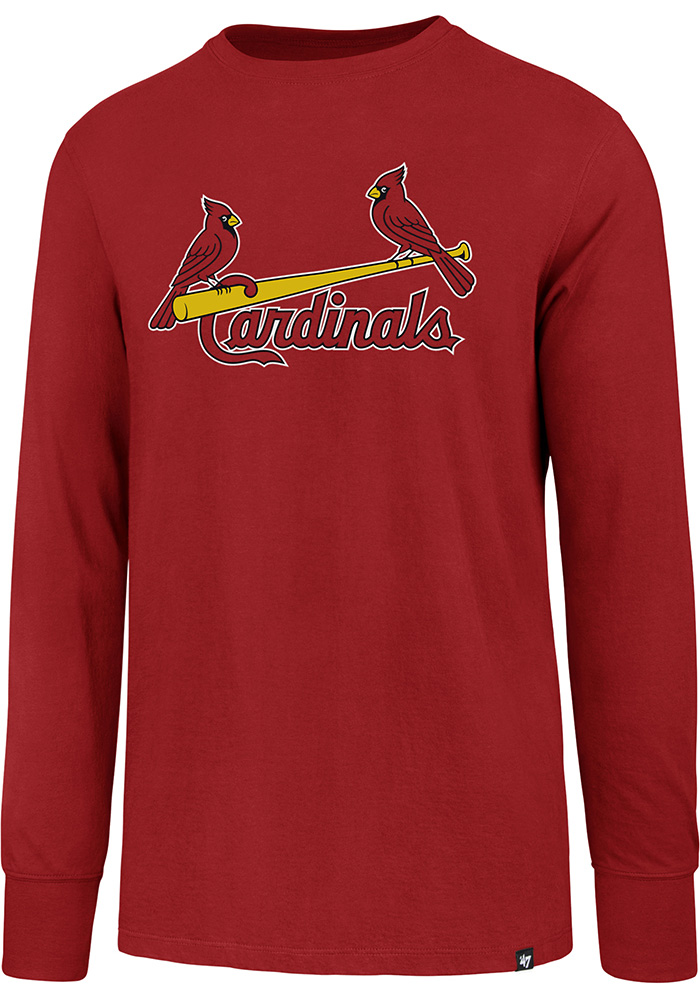 47 St Louis Cardinals Red Super Rival Long Sleeve T Shirt - Image 1