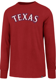 47 Texas Rangers Red Super Rival Tee