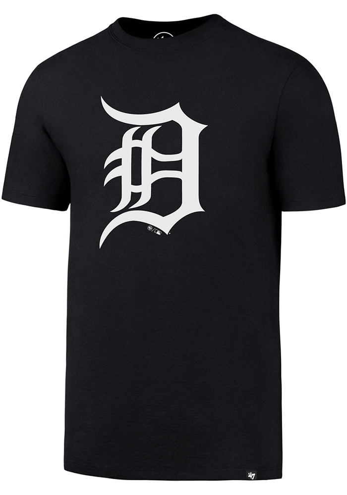 '47 Detroit Tigers Navy Blue Super Rival Tee