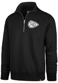 47 Kansas City Chiefs Black Striker 1/4 Zip Fashion Pullover
