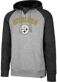 47 Pittsburgh Steelers Match Grey Fashion Hood