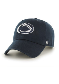 47 Penn State Nittany Lions Navy Blue Clean Up Youth Adjustable Hat