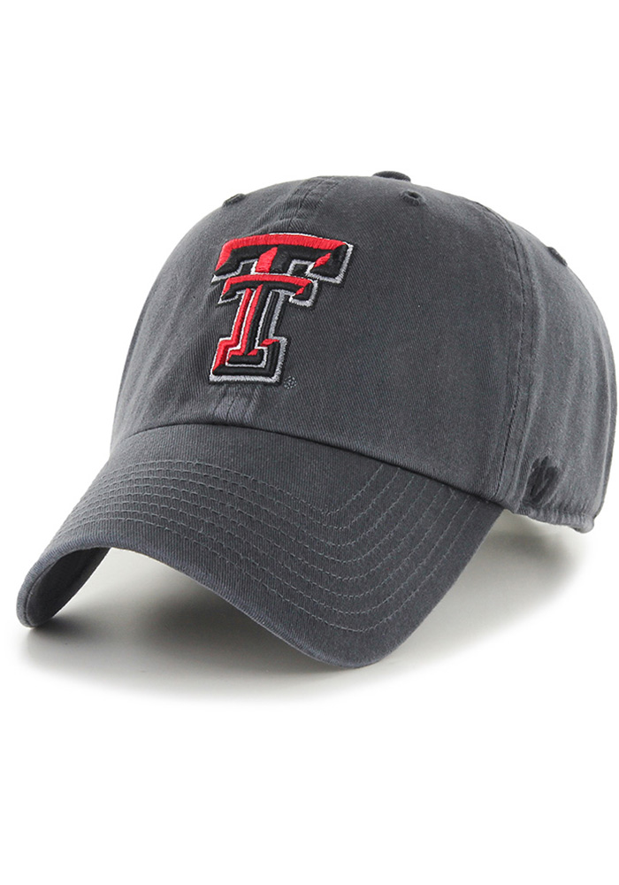 '47 Texas Tech Red Raiders Grey Clean Up Youth Adjustable Hat - Image 1