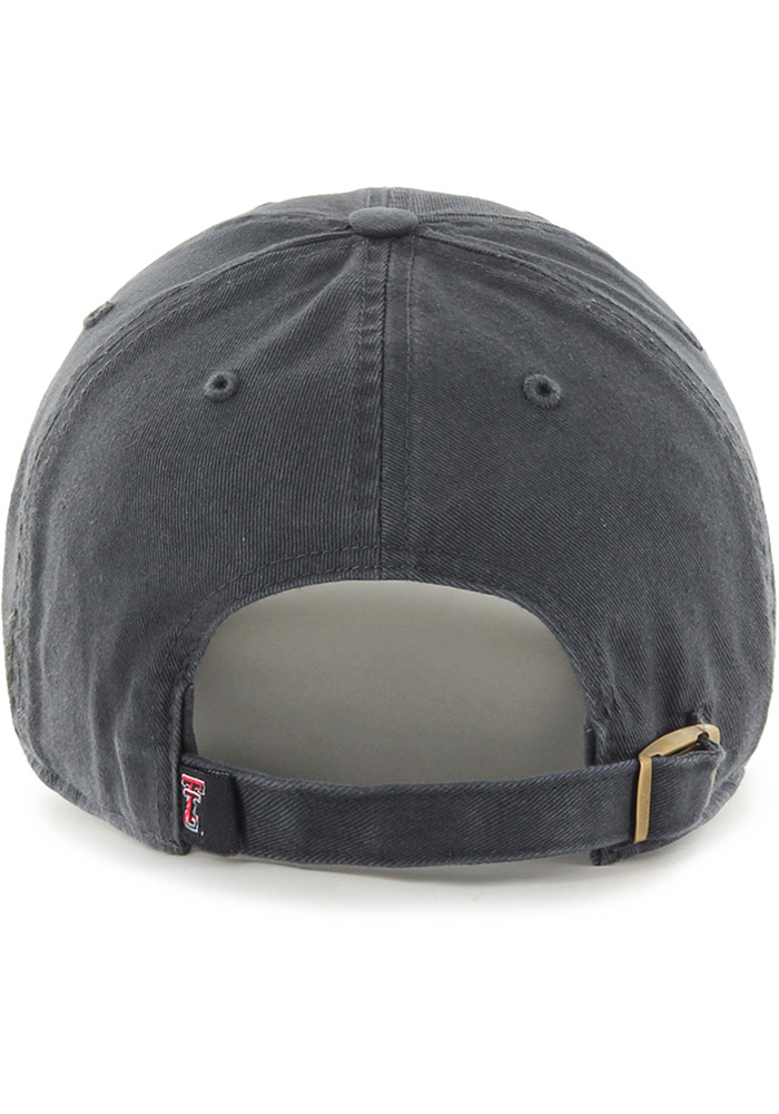 '47 Texas Tech Red Raiders Grey Clean Up Youth Adjustable Hat - Image 2