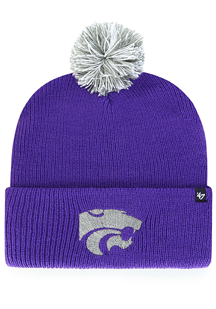 '47 K-State Wildcats Purple Shiver Cuff Knit Mens Knit Hat - Image 1