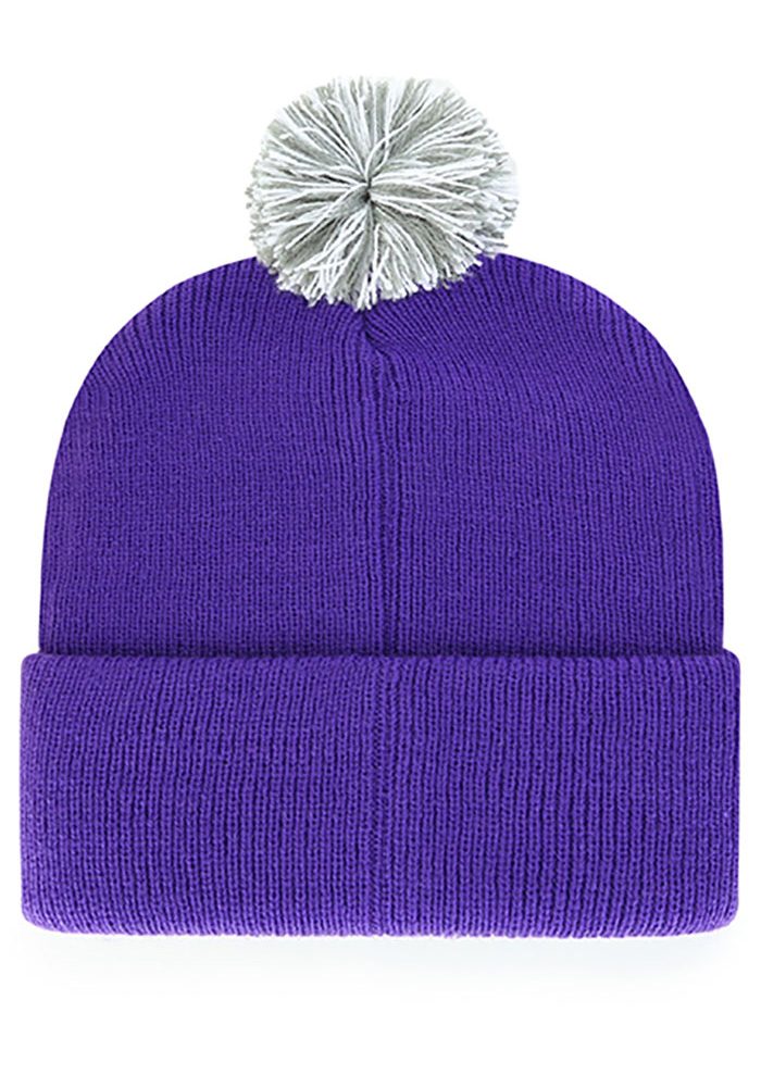 '47 K-State Wildcats Purple Shiver Cuff Knit Mens Knit Hat - Image 2
