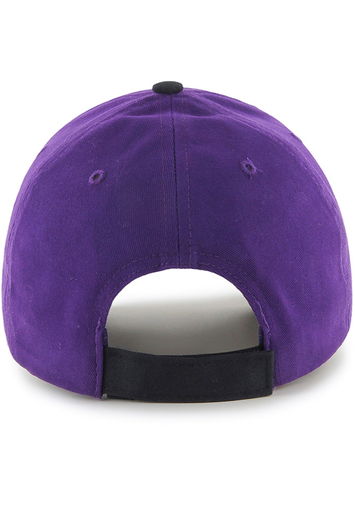 '47 K-State Wildcats Purple Short Stack MVP Youth Adjustable Hat - Image 2