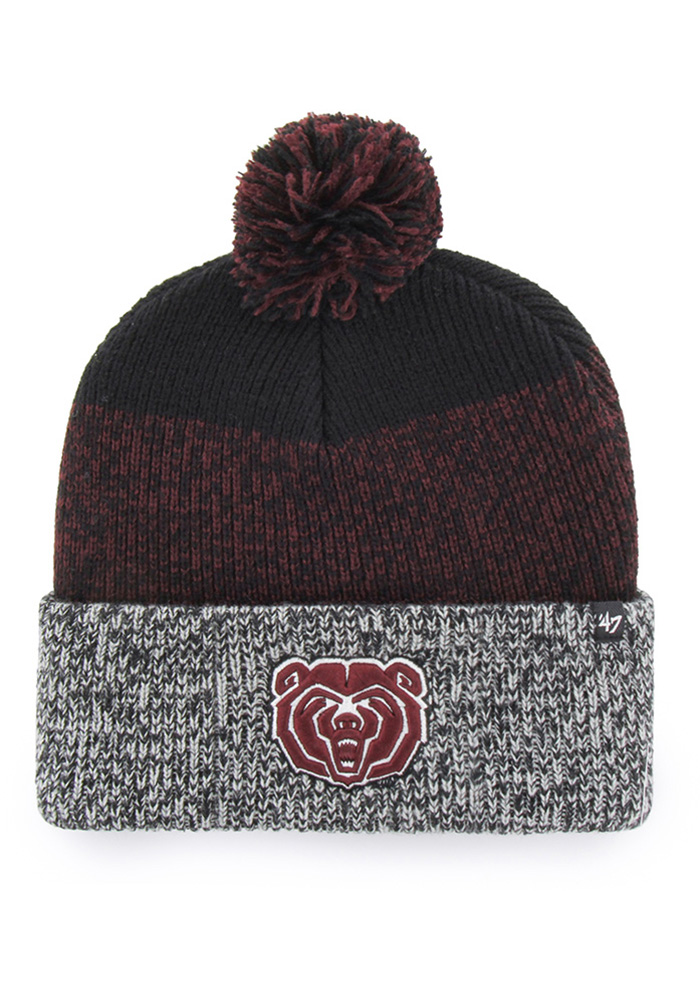 d681e429 ... sport knit lids d72b2 1aace; 50% off 47 missouri state bears black  static cuff knit knit hat 3df30 79319