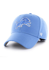 47 Detroit Lions Primary MVP Adjustable Hat - Blue