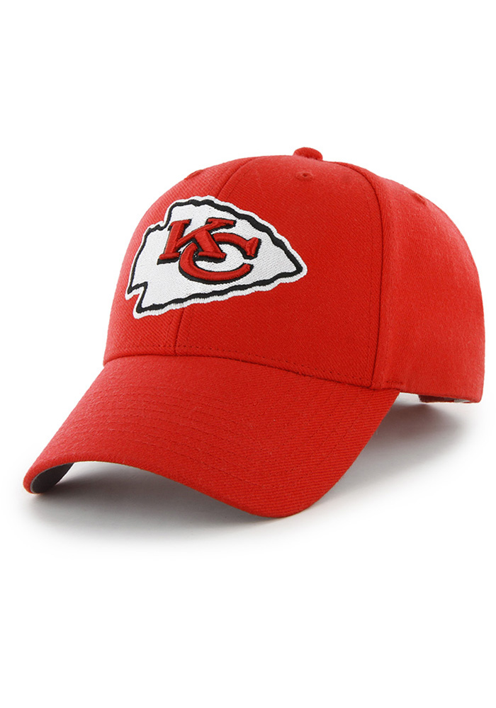 47 Kansas City Chiefs Primary MVP Adjustable Hat - Red - Image 1