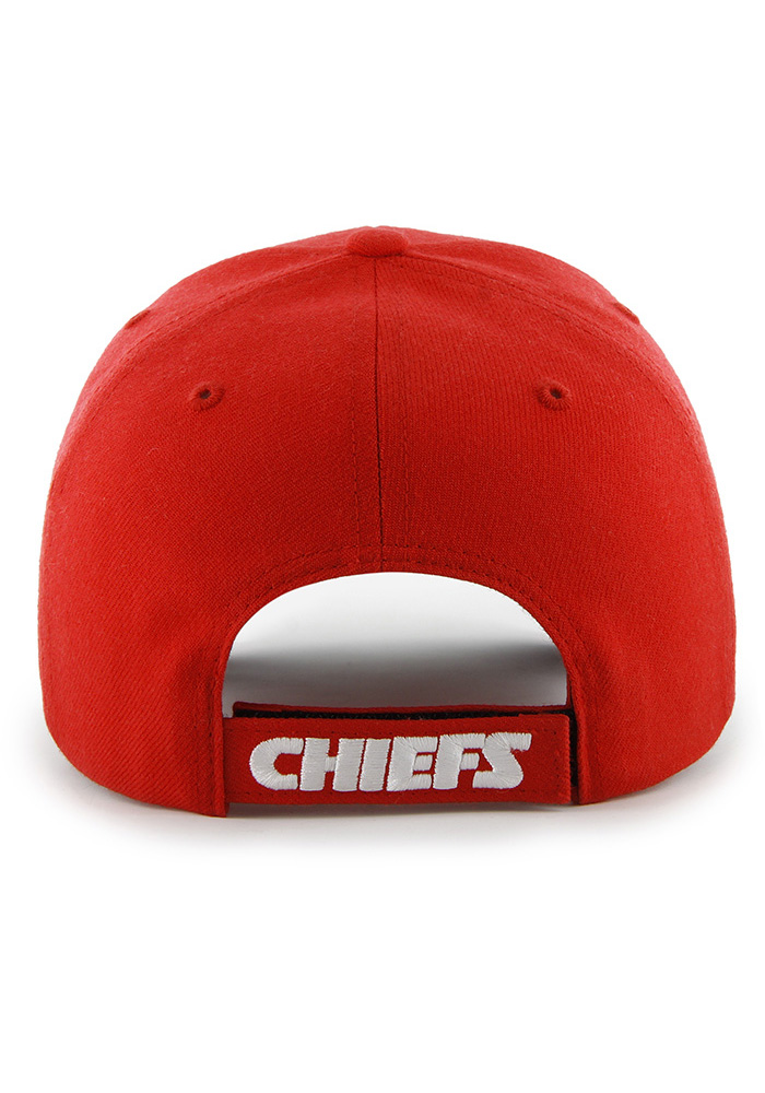47 Kansas City Chiefs Primary MVP Adjustable Hat - Red - Image 2