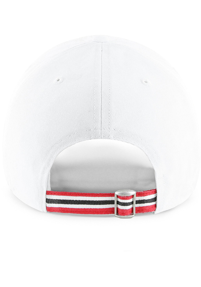 47 Detroit Red Wings White Courtney Clean Up Womens Adjustable Hat - Image 2