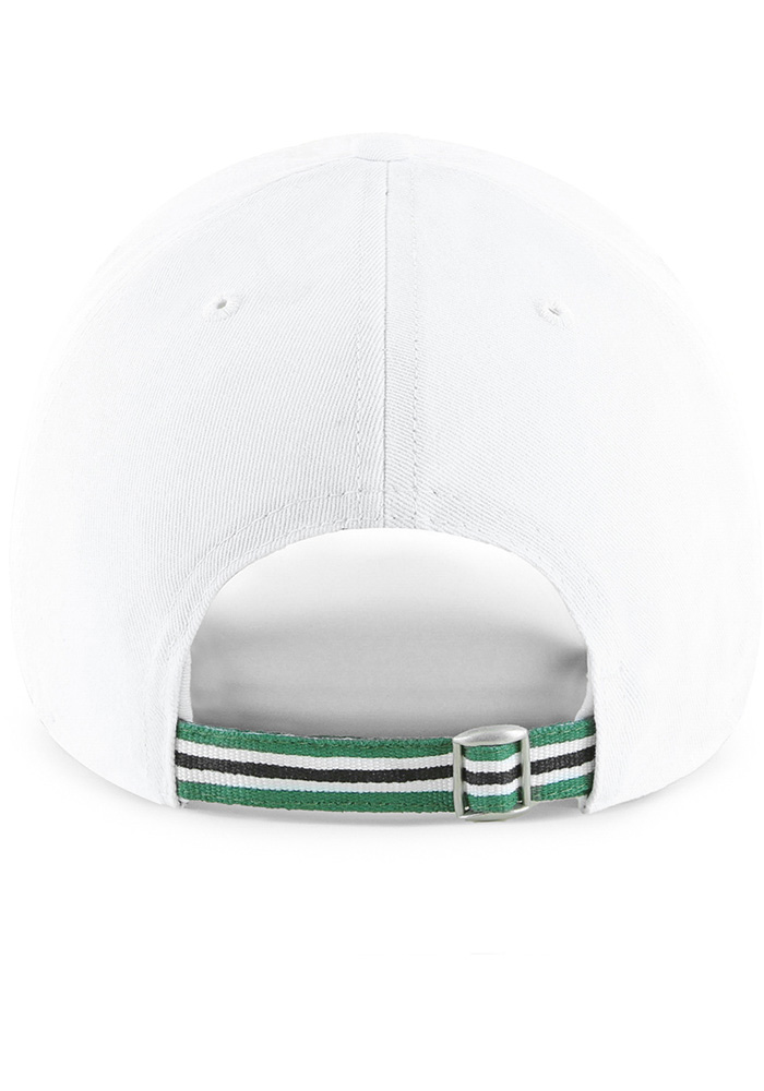 47 Dallas Stars White Courtney Clean Up Womens Adjustable Hat - Image 2