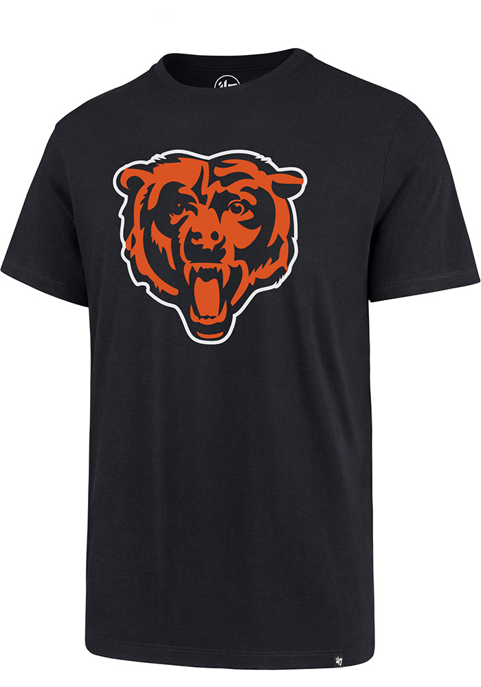 47 Chicago Bears Navy Blue Imprint Short Sleeve T Shirt - Image 1