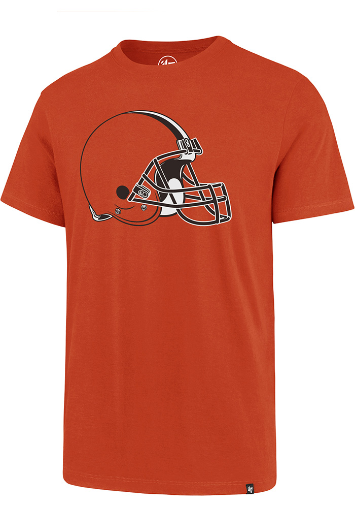 47 Cleveland Browns Orange Imprint Short Sleeve T Shirt - Image 1