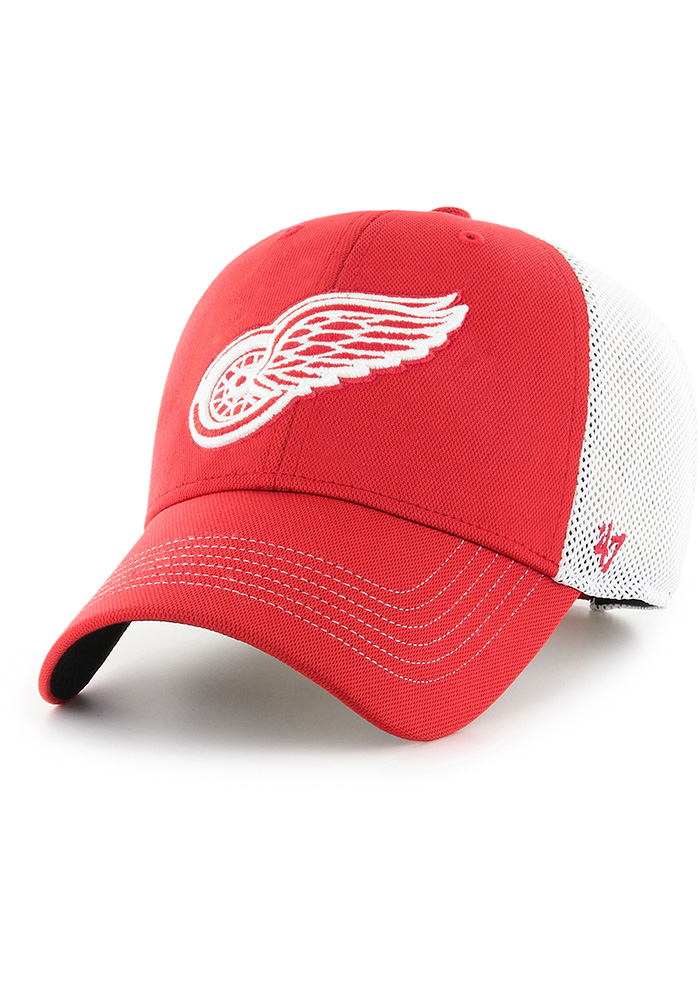 47 Detroit Red Wings Cutback MVP Adjustable Hat - Red - Image 1
