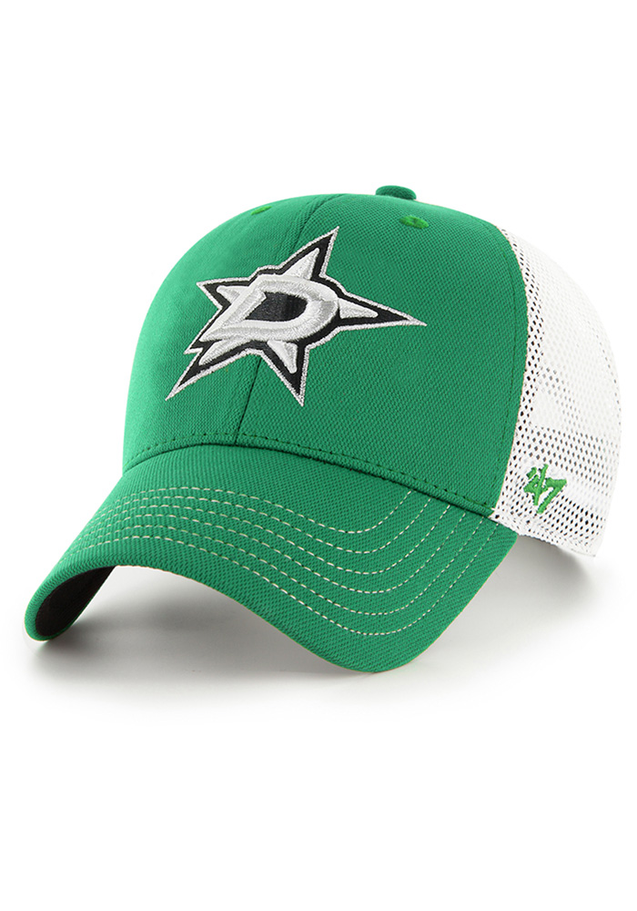 '47 Dallas Stars Cutback MVP Adjustable Hat - Kelly Green - Image 1