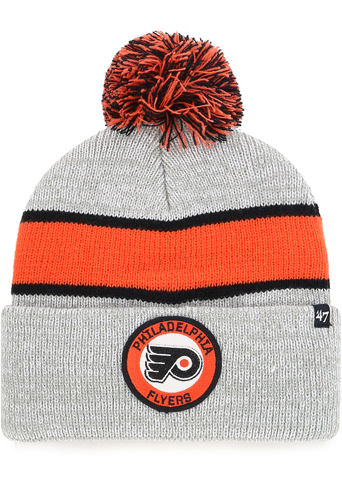 bbfb4bc33ca  47 Philadelphia Flyers Grey Noreaster Cuff Knit Knit Hat