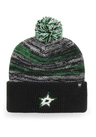 114c0cfee7c  47 Dallas Stars Black Sideboard Cuff Knit Knit Hat