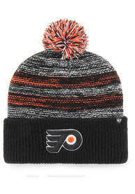 e20d6cfe39b  47 Philadelphia Flyers Black Sideboard Cuff Knit Knit Hat