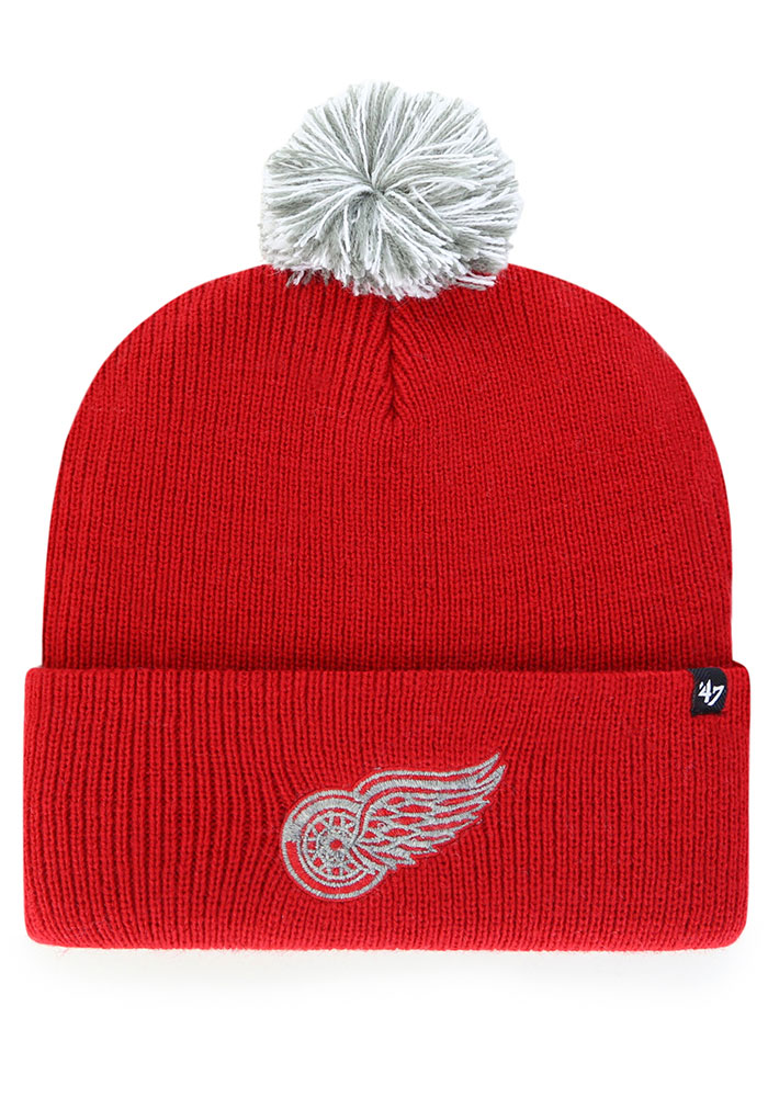 47 Detroit Red Wings Red Shiver Cuff Knit Knit Hat