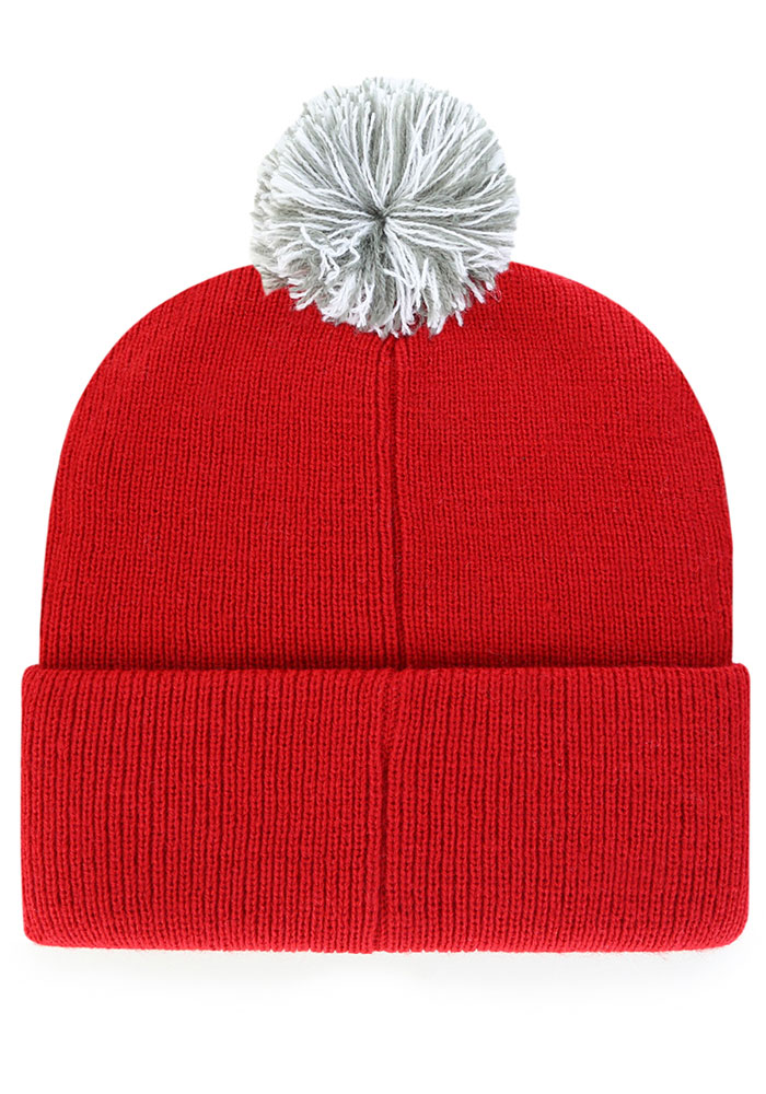 47 Detroit Red Wings Red Shiver Cuff Knit Mens Knit Hat - Image 2