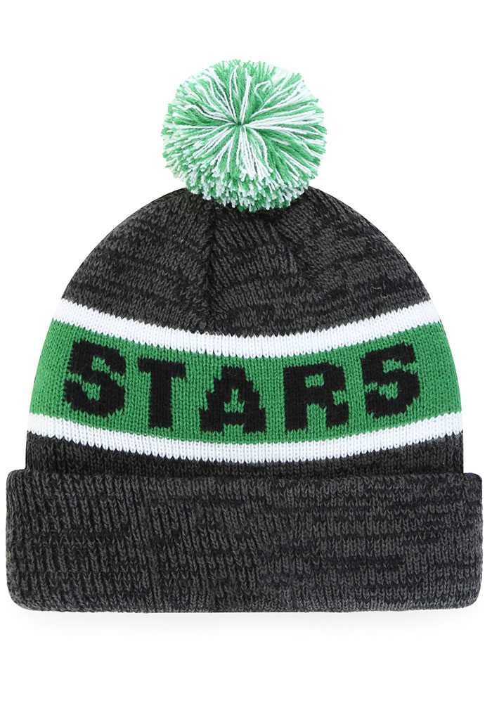 '47 Dallas Stars Black Tadpole Cuff Knit Youth Knit Hat - Image 2