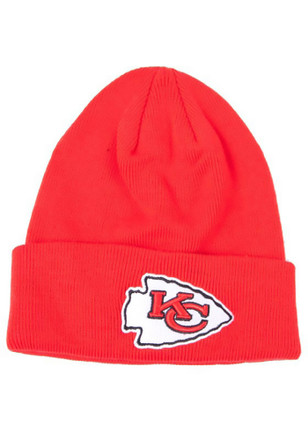 '47 Kansas City Chiefs Red Raised Cuff Kids Knit Hat