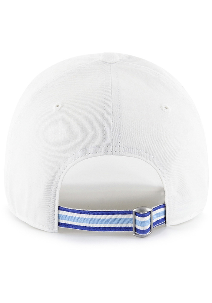 47 Kansas City Royals White Courtney W Clean Up Womens Adjustable Hat - Image 2